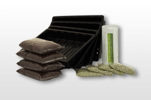 'Grow Your Own' Organic Snow Pea Shoots Kit from Aconbury