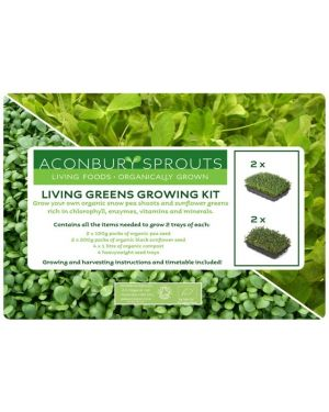 'Grow Your Own' Organic Living Greens Kit from Aconbury